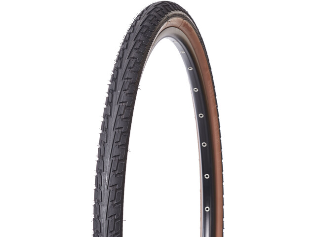 "Continental Ride Tour Tyre 28"", wire bead brown/brown"
